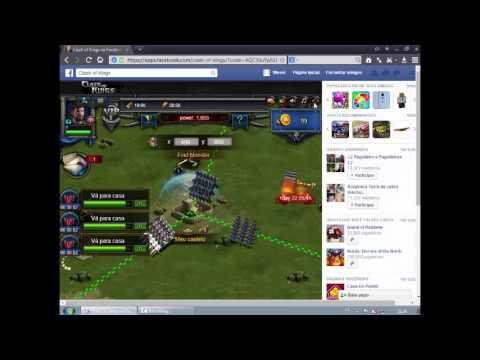🔵Como Jogar Clash Of Kings Pelo Facebook