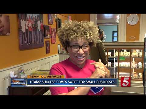 Local bakeries benefiting from Titans' sweet road to the championship