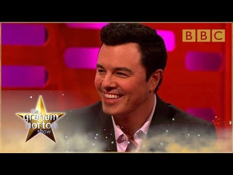 Seth MacFarlane Melakukan Suara Family Guy - The Graham Norton Show: Seri 15 - BBC One