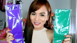 How to Color Hair Using CREPE PAPER! | (Cheap and Easy Hair Hack)(NEW VIDEO every Wednesday and Saturday! Don't forget to subscribe! My Instagram - @RealAsianBeauty My Blog - http://realasianbeauty.com/ *** What ..., 2016-06-15T21:11:11.000Z)