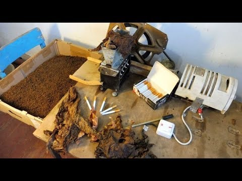 Табак приготовление в домашних условиях