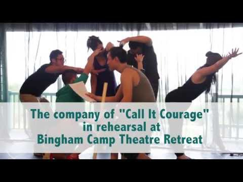 """Rehearsing """"Call It Courage"""" at BCTR"""