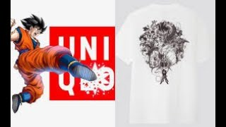 I had to BUY it! Uniqlo x Dragonball Z collection!