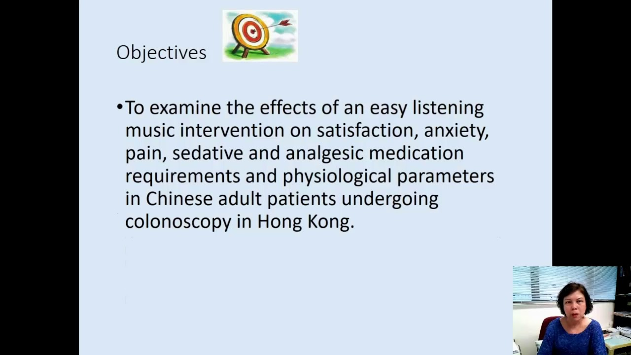 Effects of easy listening music intervention on satisfaction