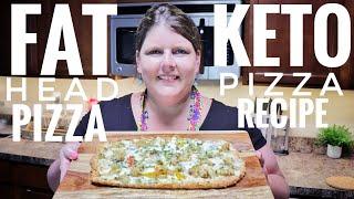 Keto Pizza ~ Fathead Pizza Recipe
