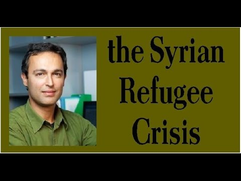 Lecture, Q&A on Syrian Refugee Crisis and Daesh at Bloomsburg Public Library, Dec . 15, 2015