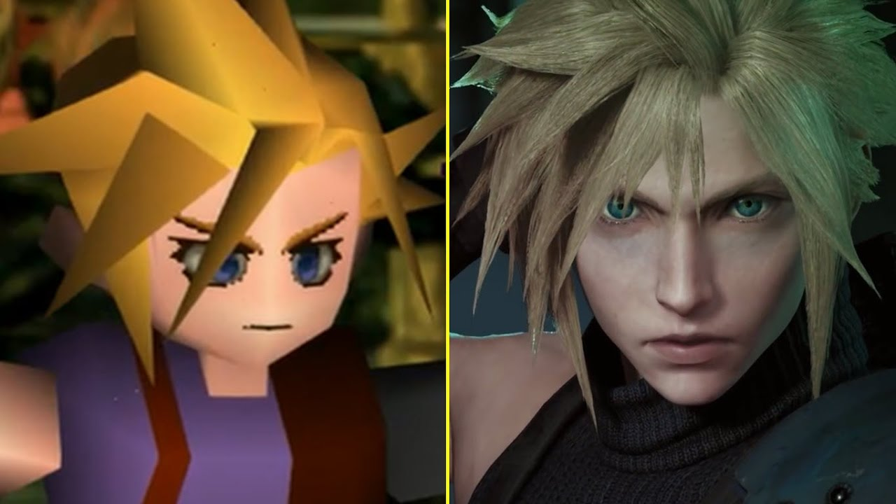 Final Fantasy VII Original vs Remake Trailer Graphics Comparison ...