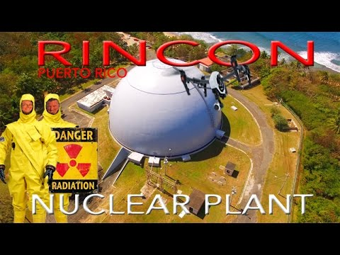 RINCON NUCLEAR PLANT ~Puerto Rico ~ Best Caribbean Drone Footage ~ WeBeYachting.com