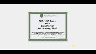 ForexPeaceArmy   Sive Morten Daily, EUR/USD 01.16.2019