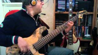 BEE GEES - You Should Be Dancing personal bassline by Rino Conteduca with bass Elrick NJS5
