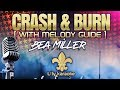 Bea Miller - Crash & Burn (Karaoke Version - Melody Guide)