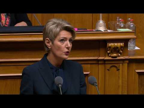 Antrittsrede Bundesrätin Karin Keller-Sutter
