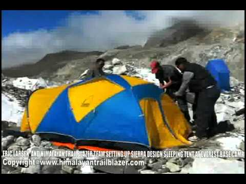 Sierra Design Tent Setup - Part II & Sierra Design Tent Setup - Part II - YouTube