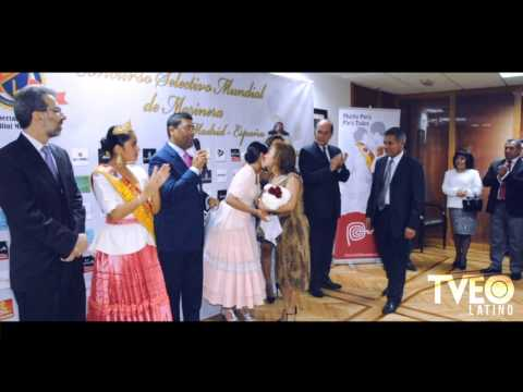Presentan Reina del Club Libertad de Trujillo 2015 - Filial Madrid