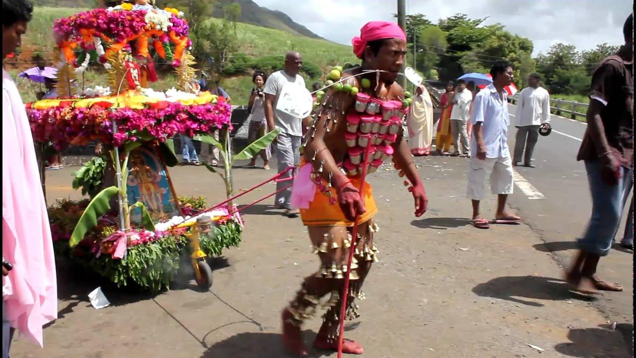 Cavadee festival Mauritius 2011  6  YouTube