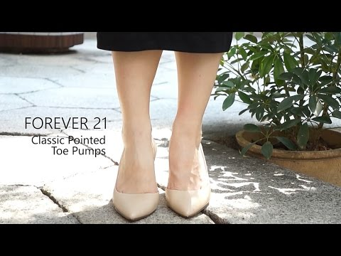 NUDE or BLACK / Heels or Flats? - YouTube