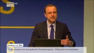 Europäischer Polizeikongress 2016: Terrorismusexperte Peter Neumann hält Rede am 24.02.2016