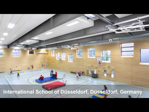 Ecophon Super G Plus A, International School of Düsseldorf, Düsseldorf, Germany