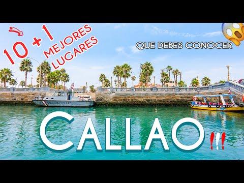 El CALLAO PERÚ | 11 MEJORES LUGARES TURÍSTICOS que DEBES VISITAR (QUE HACER y QUE CONOCER)