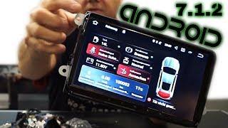 Hizpo Android 7 1 2-DIN Car Radio Stereo Quad Core MP5 Player - Full