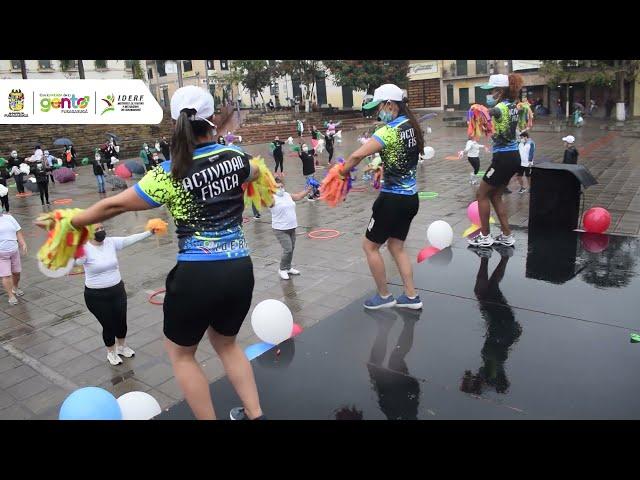 Resumen del día mundial de la actividad física en Fusagasugá.
