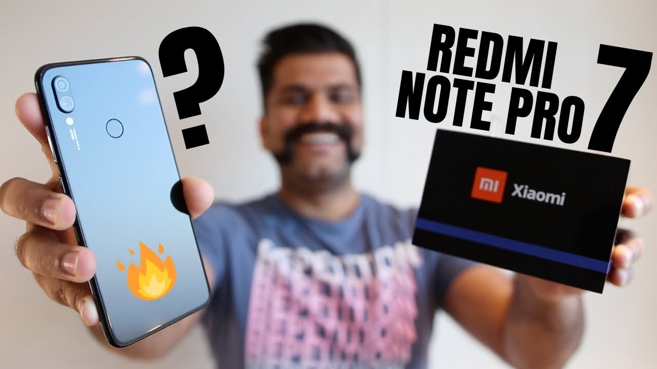 Redmi Note 7 Pro Unboxing & First Look + Giveaway   Performance Powerhouse????????????