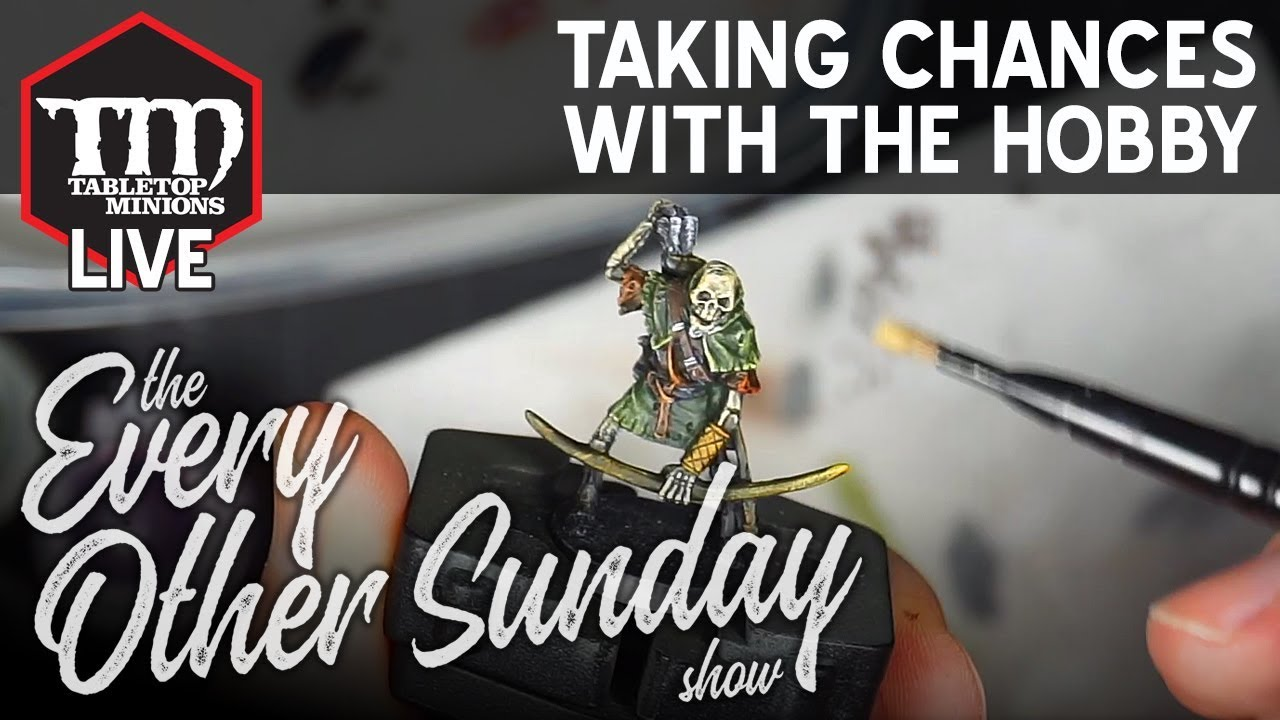 Taking Chances With the Hobby - The Every Other Sunday Show