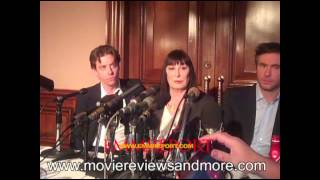 Anjelica Huston,Christan Borle and Jack Davenport NBC Show SMASH