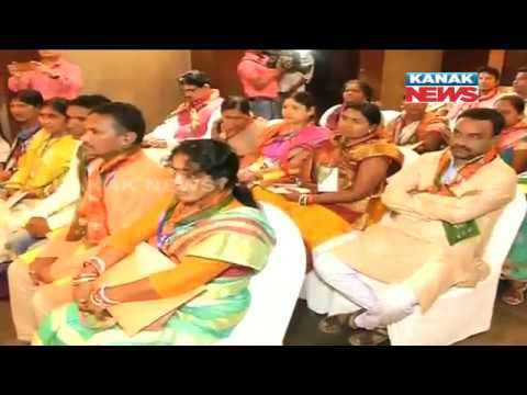 Three Union Ministers Attend BJP's State Executive Meet In Bhubaneswar