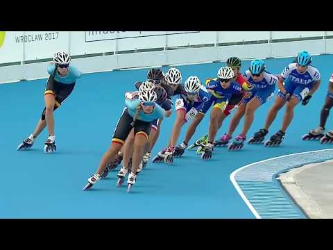 World Games 2017 - Speed Skating - Final - Women 15.000M ELIMINATION