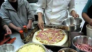 Jumbo Seafood Pizza