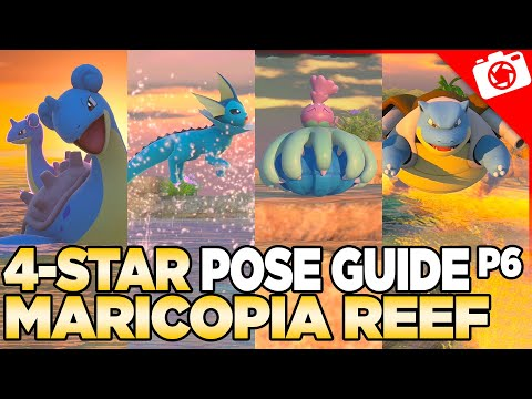 Maricopia Reef 4-Star Pose & Request Guide   New Pokemon Snap