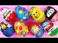 Learn Numbers New Super Kinder Joy Toys Kinder surprise Eggs for Boys & Girls Unboxing Kids Video