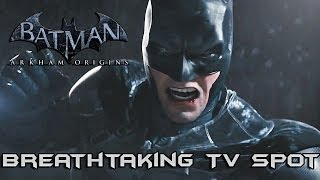 Batman Arkham Origins: Breathtaking TV Spot!