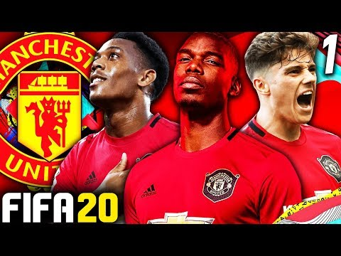 FIFA 20 MANCHESTER UNITED CAREER MODE #1 - REVIVING THE RED DEVILS! 170 MILLION TO SPEND!!!