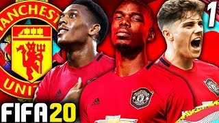 FIFA 20 MANCHESTER UNITED CAREER MODE #1 - REVIVING THE RED DEVILS! £170 MILLION TO SPEND!!!