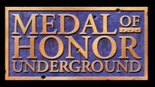 Classic PS1 Game Medal of Honor Underground on PS3 in HD 720p