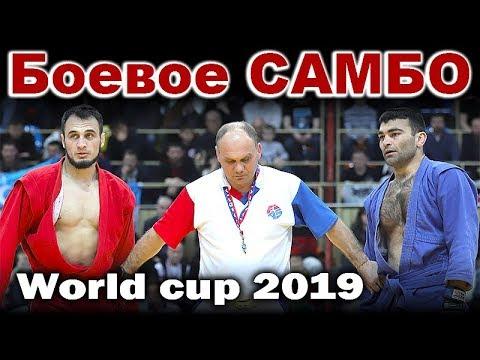 2019 Боевое САМБО финал -74 кг ДУГИЕВ (RUS) - КУДРАТОВ (UZB) Кубок мира Sambo