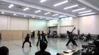 2012年5月明治座「早乙女太一特別公演」。 過去の公演VTR、稽古場風景を...
