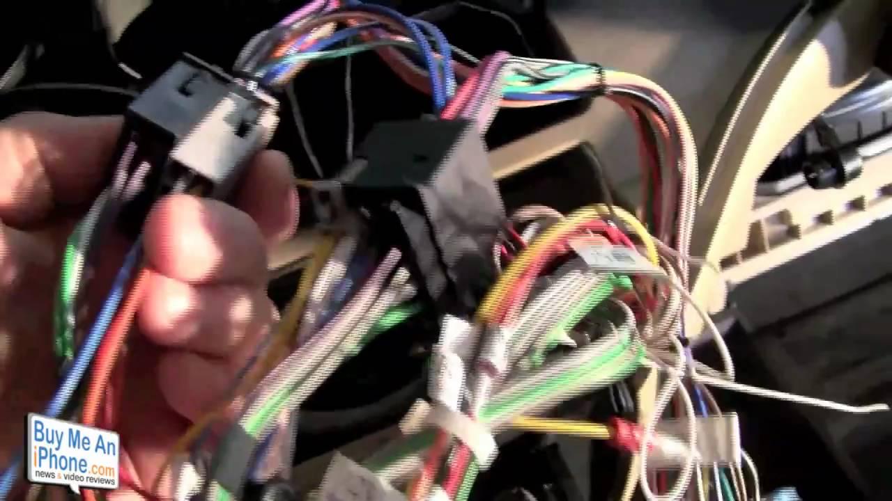 Parrot MKi9200 Honda Odyssey Install  YouTube