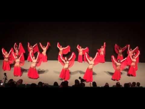 Danse Orientale Montpellier Tous Niveaux Elissa avec Voile