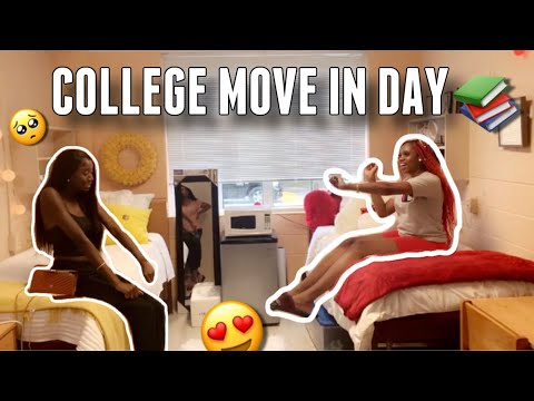COLLEGE MOVE IN DAY VLOG ( CLAFLIN UNIVERSITY HBCU)