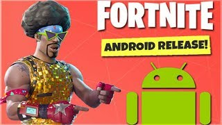 Fortnite Mobile - ANDROID RELEASE UPDATE! - Google Play Banned
