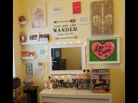 Vanity and Makeup Storage Tour (Updated)