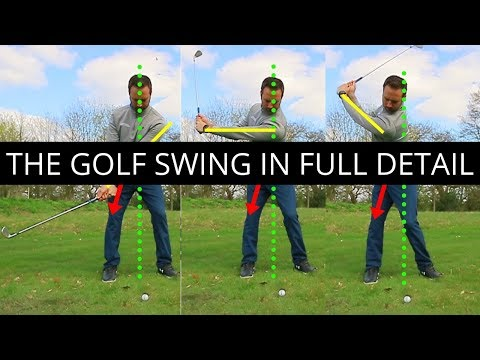 THE GOLF SWING IN FULL DETAIL