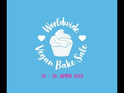 The 2018 Worldwide Vegan Bake Sale is coming to your town!