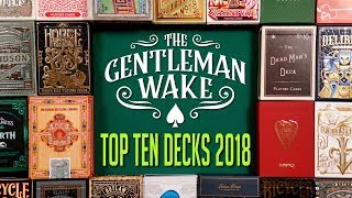 Top Ten Playing Card Decks of 2018
