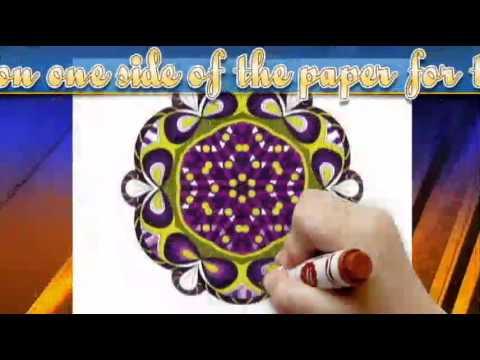 Intermediate Mandala Coloring Book For Adults