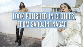 How To Look POLISHED In Clothes From Sarojini Nagar! | Komal Pandey
