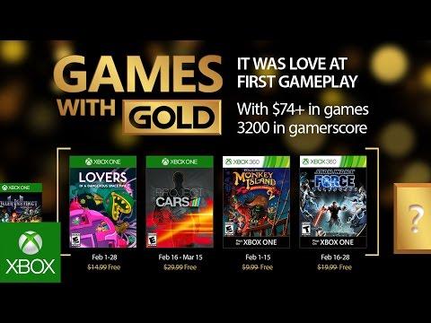 Список игр по программе Games With Gold в феврале (UPD)